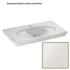 Раковина Villeroy & Boch La Belle 6124 11 MH (612411MH La Rose CeramicPlus) (1000х490 мм)