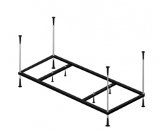 Каркас металлический для ванны Alpen Salsa (190х100) KMP190100