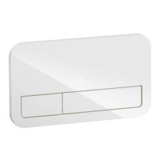 Клавиша смыва Villeroy & Boch ViConnect 9224 00 RE (922400RE) (стекло, белый глянцевый)