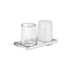 Дозатор жидкого мыла со стаканом Keuco Edition 11 11153 019000