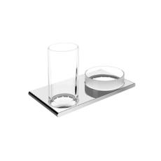 Стакан с чашей для мелочей Keuco Edition 400 11554 019000