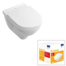 Унитаз подвесной Villeroy & Boch O.Novo 5660 H1 R1 (5660H1R1 CeramicPlus)