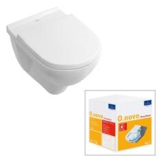 Унитаз подвесной Villeroy & Boch O.Novo 5660 HR R1 (5660HRR1 CeramicPlus) без смывного обода