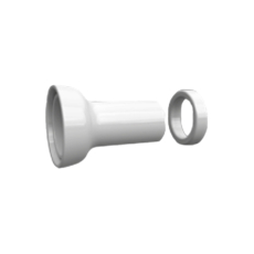 Труба выпуска для унитаза Kerasan 754801 (белая)