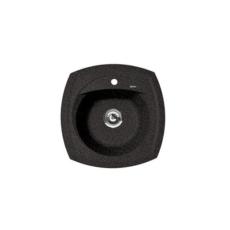 Мойка Florentina Корсика черный (20.105.B0510.102), 510х510мм