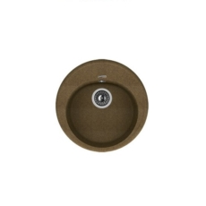 Мойка Florentina Лотос-510 коричневый (20.290.B0510.105), 510х510мм