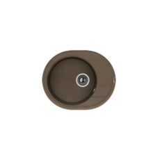 Мойка Florentina Родос-580 коричневый (20.240.B0580.105), 580х470мм