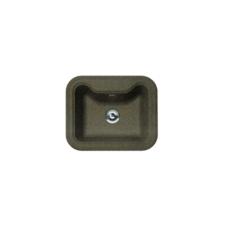 Мойка Florentina Крит-630 коричневый (20.110.D0630.105), 630х510мм