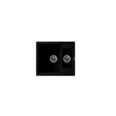 Мойка Florentina Липси-580К антрацит (20.210.D0580.302), 580х510мм