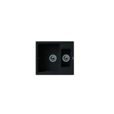 Мойка Florentina Липси-580К черный (20.210.D0580.102), 580х510мм