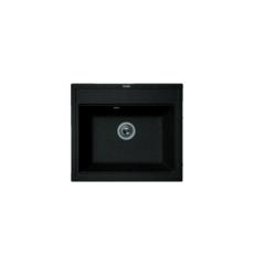 Мойка Florentina Липси-600 черный (20.120.D0600.102), 600х520мм