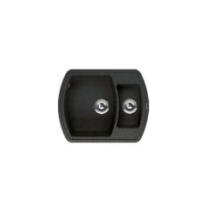 Мойка Florentina Нире-630К черный (20.220.D0630.102), 630х510мм