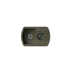 Мойка Florentina Нире-760К коричневый (20.200.D0760.105), 760х510мм