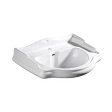 Раковина Kerasan Retro 104601 (690х520 мм) белая