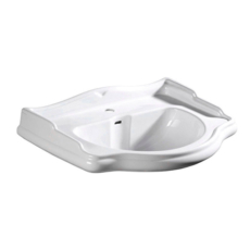 Раковина Kerasan Retro 104701 (730х540 мм) белая