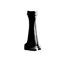 Пьедестал для раковины Kerasan Retro 107004 (черный)