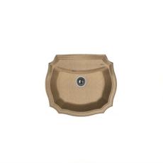 Мойка Florentina Эмилия-640 коричневый (20.355.D0640.105), 640х550мм