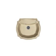 Мойка Florentina Эмилия-640 песочный (20.355.D0640.107), 640х550мм