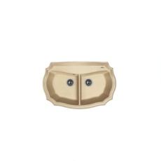Мойка Florentina Эмилия-870 песочный (20.365.F0870.107), 870х550мм