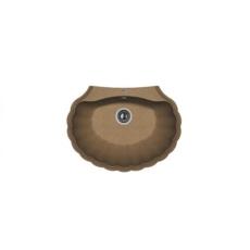 Мойка Florentina Гребешок коричневый (20.345.E0695.105), 695х525мм