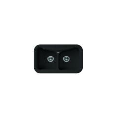 Мойка Florentina Крит-860 черный (20.115.E0860.102), 860х510мм