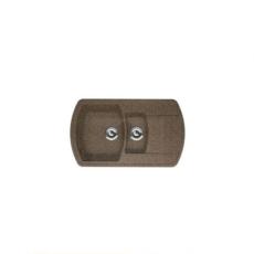 Мойка Florentina Нире-860К коричневый (20.205.D0860.105), 860х510мм
