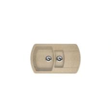 Мойка Florentina Нире-860К песочный (20.205.D0860.107), 860х510мм