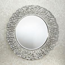 Зеркало в раме Deknudt Homka Flora Silver 2724.262 (1100 мм) серебро