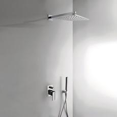 Душевая система TRES Cuadro Exclusive 406980 (белый/хром)