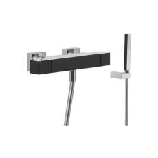Термостат для ванны TRES Cuadro Exclusive 6071749 (черный/хром)