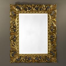 Зеркало в раме Deknudt Homka Sculpture Gold 9985.AGB (800х1000 мм) золото