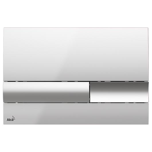 Кнопка управления AlcaPlast M1741 (хром глянцевый)