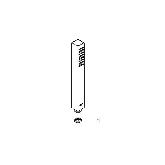 Ручной душ Grohe Euphoria Cube Stick 27698000
