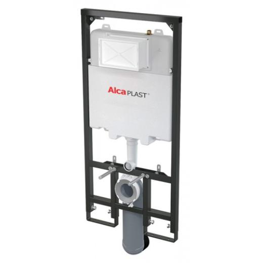 Инсталляция для подвесного унитаза AlcaPlast Sadromodul Slim AM1101/1200 (глубина 84 мм)
