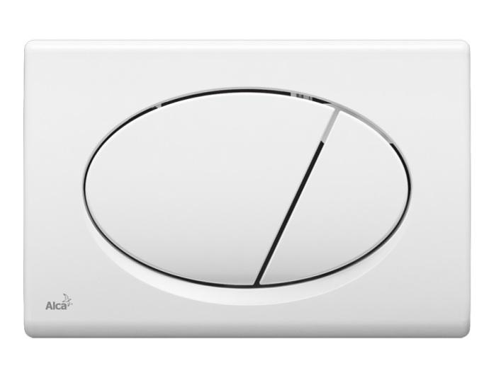 Кнопка управления AlcaPlast M70 (белая)