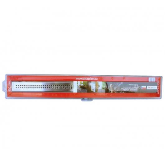Водоотводящий желоб с решеткой AlcaPlast APZ10-550M Simple (550 мм)