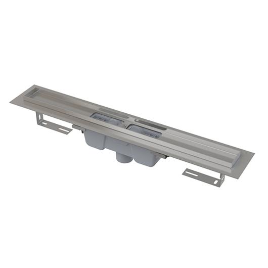 Водоотводящий желоб AlcaPlast APZ1001-750 (750 мм, вертикальный выпуск)