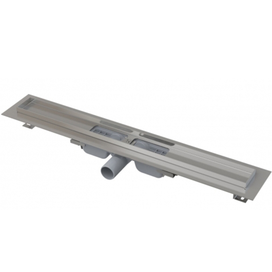 Водоотводящий желоб AlcaPlast APZ101-1050 Low (1050 мм, высота монтажа 55 мм)