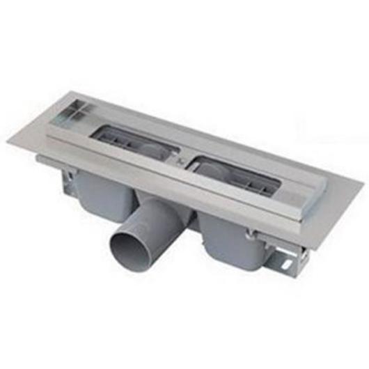 Водоотводящий желоб AlcaPlast APZ101-300 Low (300 мм, высота монтажа 55 мм)