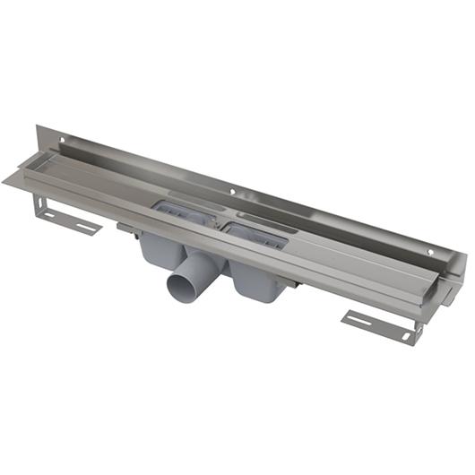 Водоотводящий желоб AlcaPlast APZ4-750 Flexible (750 мм, пристенный)
