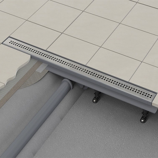 Водоотводящий желоб с решеткой AlcaPlast APZ9-850M Simple (850 мм)