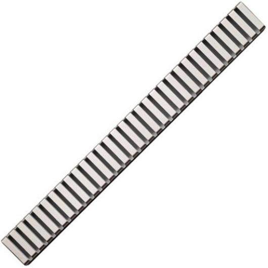 Водоотводящая решетка AlcaPlast LINE-750L (750 мм) глянцевая