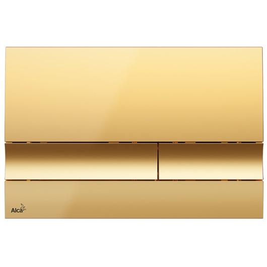 Кнопка управления AlcaPlast M1725 (золотая)