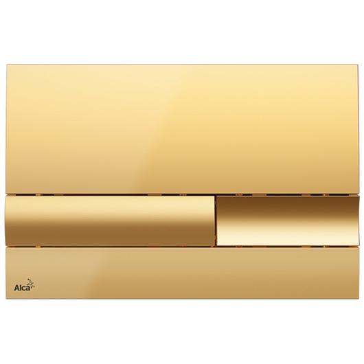 Кнопка управления AlcaPlast M1745 (золотая)