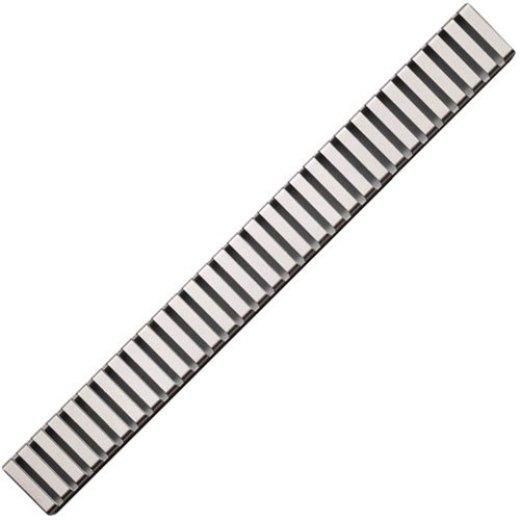 Водоотводящая решетка AlcaPlast LINE-1150M (1150 мм) матовая