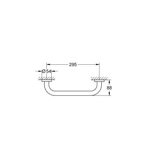 Поручень для ванны Grohe Essentials 40421001