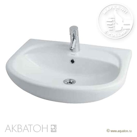 Раковина для мебели Акватон АКВАПОЛО-6533 65 (665х505 мм) 1WH110162