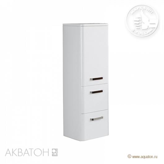 Полуколонна подвесная Акватон Валенсия правая (342х1070) белый жемчуг 1A123903VAG3R
