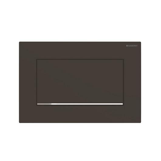 Смывная клавиша Geberit Sigma30 115.893.14.1 (матовый черный, с легкоочищаемой поверхностью)