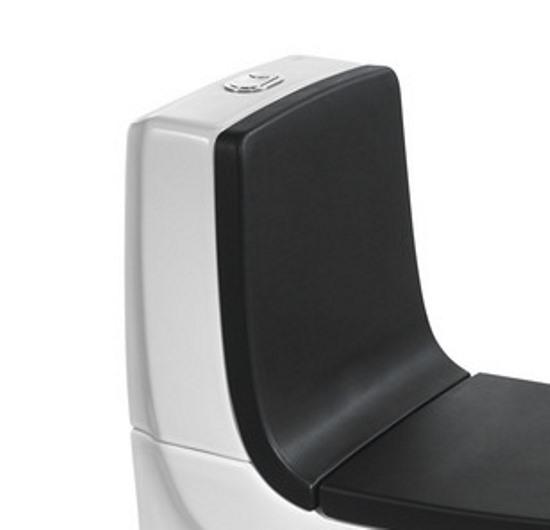 Спинка для унитаза Roca Khroma 80165AF7T черная